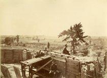 Image of Albumen - Fortifications in front of Atlanta, Ga., 1864