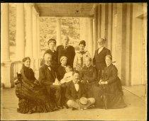 Image of Albumen - Group Taken at White Sulphur Springs