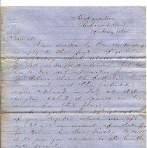 Image of Letter - REL-36