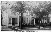 Image of Dr. Bonnell M. Souder Hospital - Eckhart Public Library Postcard Collection
