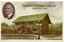 Image of Eckhart Public Library - Eckhart Public Library Postcard Collection