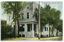 Image of Auburn Post Office - Eckhart Public Library Postcard Collection