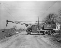 Image of CONSTRUCTION CRANE - Eckhart Public Library Photo Collection