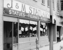 Image of J & M Statuary - Eckhart Public Library Photo Collection