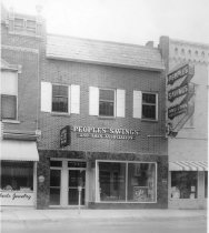 Image of People's Savings and Loan Association - Eckhart Public Library Photo Collection