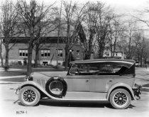 Image of Auburn Touring Car - Eckhart Public Library Photo Collection