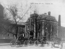 Image of DeKalb County Courthouse and Jail 1875 - Eckhart Public Library Photo Collection