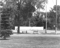 Image of Thomas Memorial Park Tennis Courts - Eckhart Public Library Photo Collection