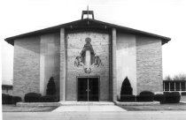 Image of Immaculate Conception Catholic Church - Eckhart Public Library Photo Collection