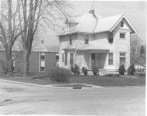 Image of 403 N. Van Buren/NW Corner of Fourth & Van Buren Streets - Eckhart Public Library Photo Collection
