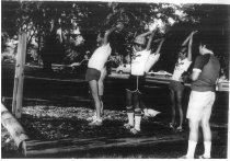 Image of Rotary Club Exercise Trail/Demonstration - Eckhart Public Library Photo Collection