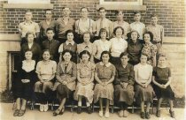 Image of Junior Class of Spencerville High School - Willennar Genealogy Center Photo Collection