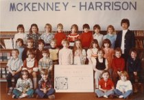 Image of Kindergarten AM Dorothy Post - McKenney Harrison 1966-1997