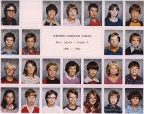 Image of Grade 4 Shannon Smith  Grade 6 Jim Pickett   - McKenney Harrison 1966-1997