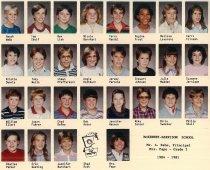 Image of Grade 5 Pape 1984-85