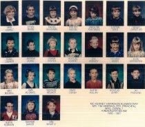 Image of Kindergarten AM Oswalt - McKenney Harrison 1966-1997