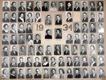 Image of Auburn High School, Senior Class Portrait, 1934 - Senior Class Portraits