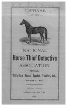 Image of Journal of the National Horse Thief Detective Association, 1893 - National Horse Thief Detective Association