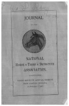 Image of Journal of the National Horse Thief Detective Association, 1907 - National Horse Thief Detective Association