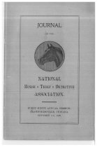 Image of Journal of the National Horse Thief Detective Association, 1909 - National Horse Thief Detective Association