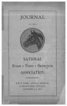 Image of Journal of the National Horse Thief Detective Association, 1911 - National Horse Thief Detective Association