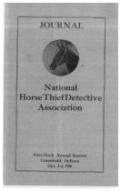 Image of Journal of the National Horse Thief Detective Association, 1916 - National Horse Thief Detective Association