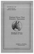 Image of Journal of the National Horse Thief Detective Association, 1926 - National Horse Thief Detective Association