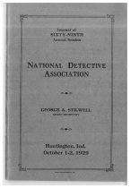 Image of Journal of the National Horse Thief Detective Association, 1929 - National Horse Thief Detective Association