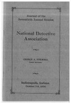 Image of Journal of the National Horse Thief Detective Association, 1930 - National Horse Thief Detective Association