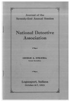 Image of Journal of the National Horse Thief Detective Association, 1931 - National Horse Thief Detective Association