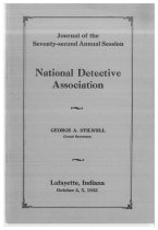 Image of Journal of the National Horse Thief Detective Association, 1932 - National Horse Thief Detective Association