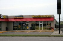 Image of Hungry Howie's Pizza and Advance America - DeKalb Co. Photographic Business Directory