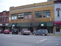 Image of 100 Block S. Main St. - DeKalb Co. Photographic Business Directory