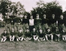 Image of 1929 Auburn High School Football Team - Willennar Genealogy Center Photo Collection