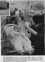 Image of Shopper at Westwood Supermarket - Willennar Genealogy Center Photo Collection