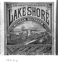 Image of Lakeshore and Michigan Southern Railway - JMS DeKalb Co. 1837-1987 Collection