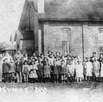 Image of Morrsville School - JMS DeKalb Co. 1837-1987 Collection