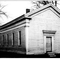 Image of Original Auburn Presbyterian Church - JMS DeKalb Co. 1837-1987 Collection