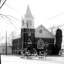 Image of St. Mark's Lutheran Church - JMS DeKalb Co. 1837-1987 Collection