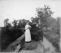 Image of Early Automobile - JMS DeKalb Co. 1837-1987 Collection
