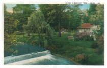 Image of Eckhart Park - John Bry Postcard Collection