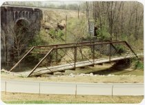 Image of Twin Bridges - Transportation in Indiana