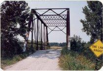 Image of Big Monon Ditch Bridge - Transportation in Indiana