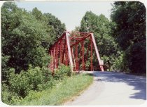 Image of Tanners Creek-West Fork Bridge - Transportation in Indiana