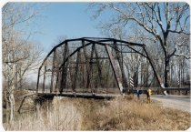 Image of Peterson Ford Bridge - Transportation in Indiana