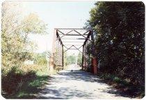 Image of Fall Creek Bridge - Transportation in Indiana