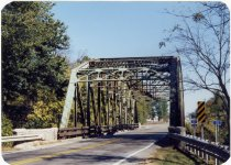 Image of Shelby County Bridge - Transportation in Indiana