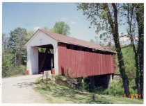 Image of North Rockdale Covered Bridge - Transportation in Indiana