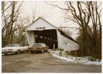 Image of Hamilton County Covered Bridge - Transportation in Indiana
