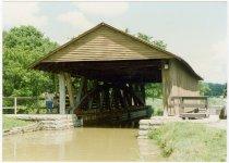 Image of Metamora Covered Bridge - Transportation in Indiana